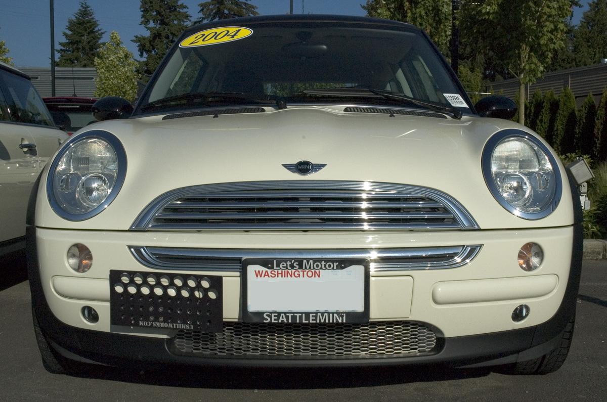 cooper 2004 mini cooper - Mini Cooper License Plate Frame