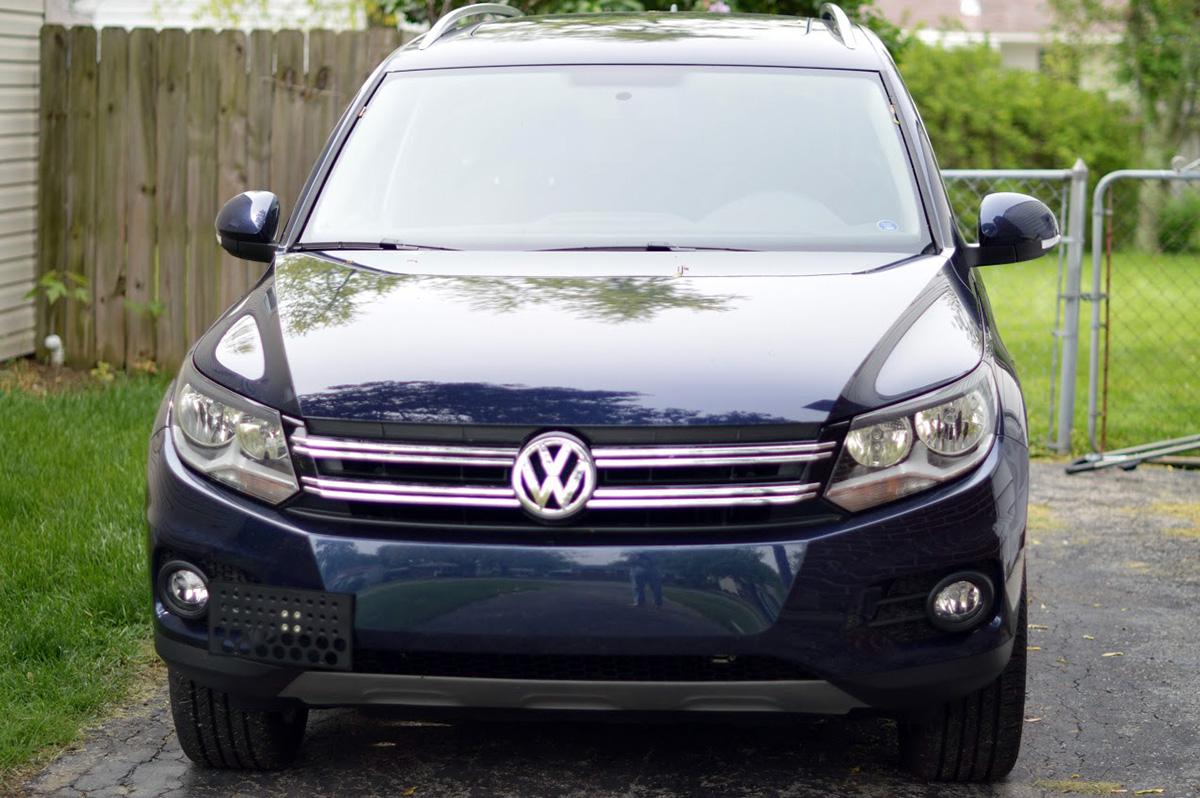 US Mill Works - Volkswagen (VW) Front License Plate Brackets